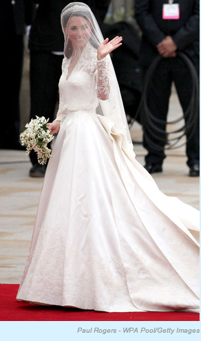 Buzzin royal wedding dress blog by jessie holeva kate had a lot to do with the design and its apparent shes a style icon for a reason see for yourself solutioingenieria Choice Image