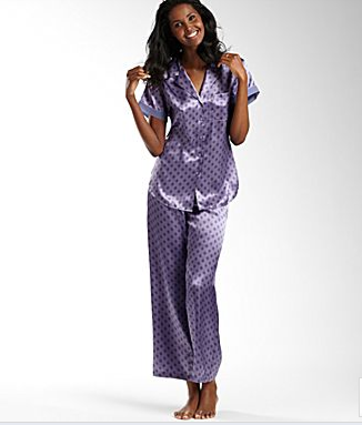 Lazy-Sunday Satin Pajamas – Blog by Jessie Holeva